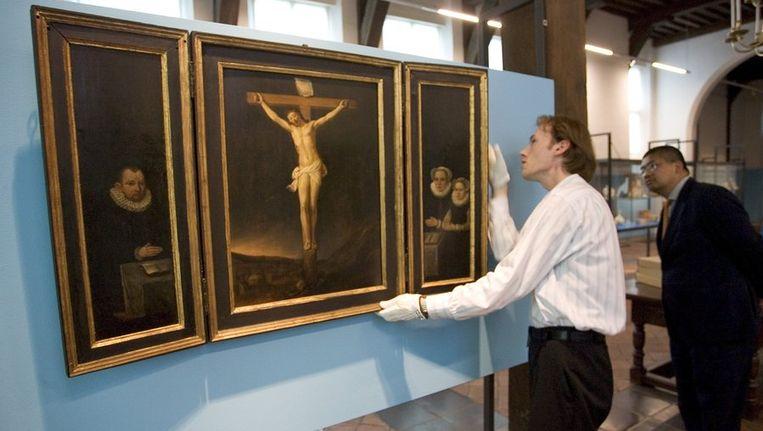 Een tentoonstelling in museumoudA in 2005. © ANP Beeld