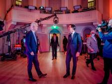 Rutte door links en rechts aangevallen in eerste tv-debat