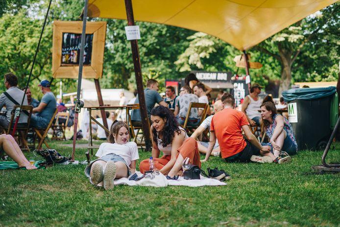 Archieffoto van speciaalbierfestival Mout in Nijmegen.