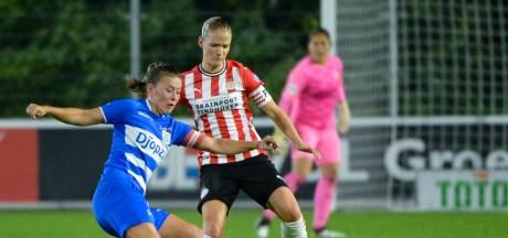 PEC Zwolle Vrouwen onder de voet gelopen door PSV