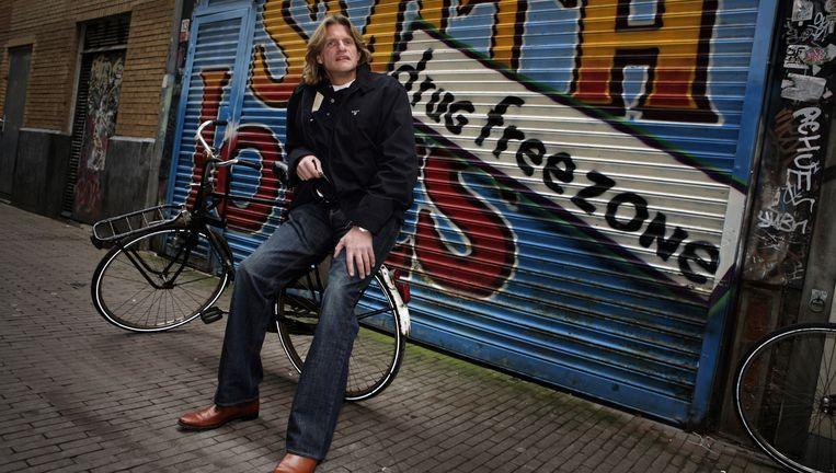 Portret van Keith Bakker, oprichter van Smith & Jones, een privekliniek voor verslaafden in Amsterdam. De zaak is nu failliet. Beeld anp