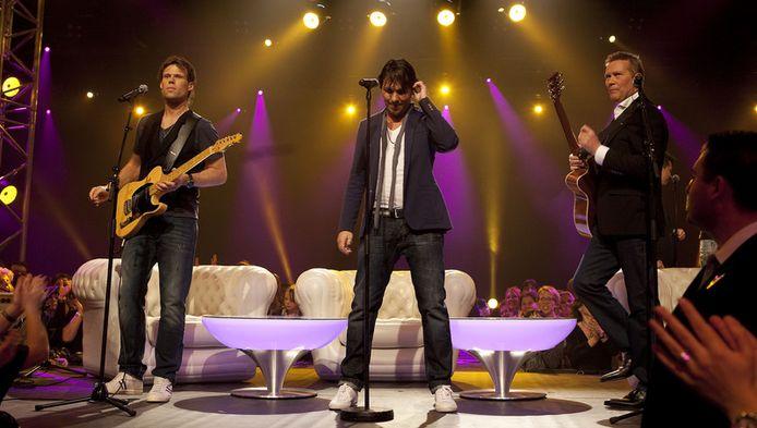 De 3JS vertegenwoordigen Nederland dit jaar op het Eurovisie Songfestival. FOTO ANP