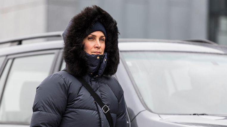 Carrie-Anne Moss in 'Wisting' Beeld rechten vrij