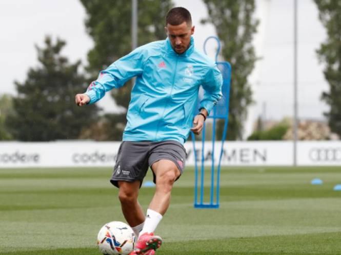 Daar is hij dan: Eden Hazard zit in Real-selectie voor wedstrijd tegen Betis
