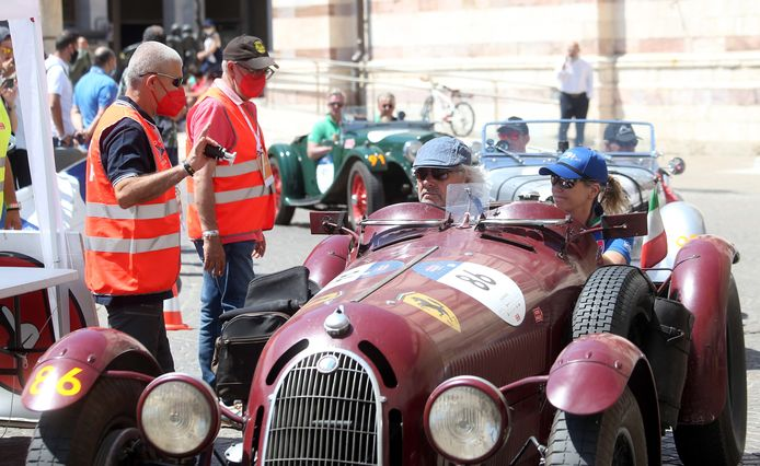 Uit 1936 is deze Alfa Romeo 8C 2900 Botticella.