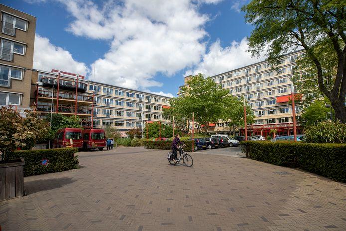 Zorgcentrum Frankeland aan de Sint Liduinastraat in Schiedam.