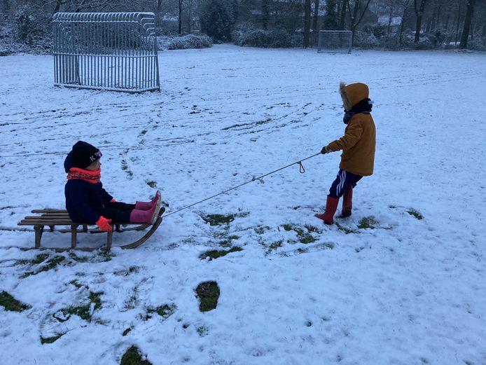 Sneeuwpret.