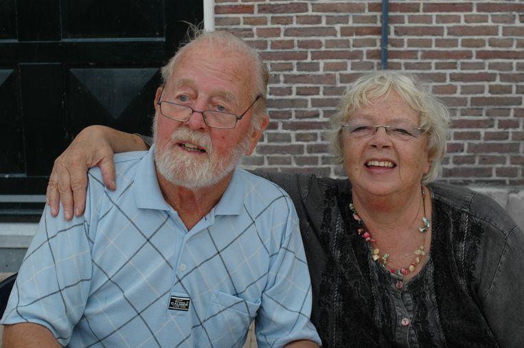 Samen met goede vriend Jan Steenman. Beeld Marlies Kieft