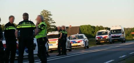 Ongeluk op N35 tussen Wierden en Nijverdal gevolg van politieachtervolging, man (47) uit Vroomshoop gearresteerd