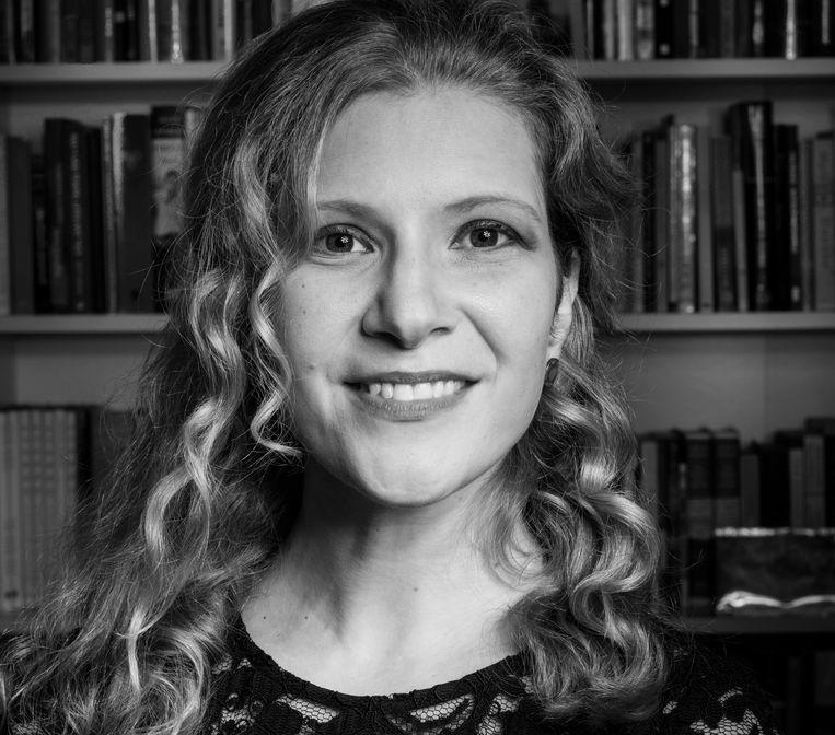 Auteur Lisa Halliday. Beeld Philipp S. Soheili