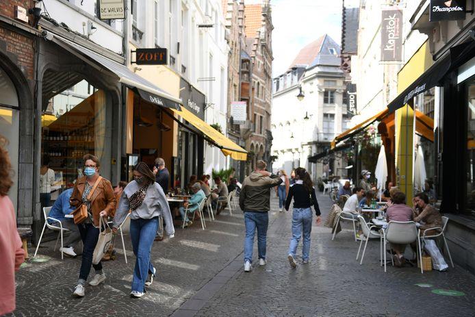 De Mechelsestraat is één van de straten die het goed doen qua handel en opmerkelijk laag scoort inzake leegstand.