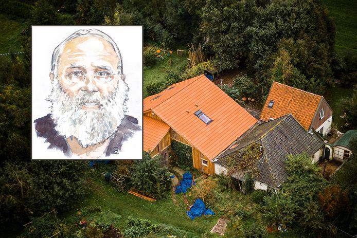 De boerderij in Drentse Ruinerwold waar Gerrit Jan zijn gezin jarenlang verborgen hield voor de buitenwereld