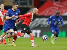Ook invaller Ziyech kan Chelsea niet redden tegen Southampton