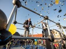 Halsbrekende toeren bij opening freerunningbaan in Rijssen