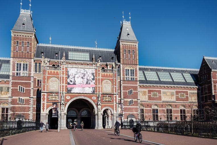 Het Rijksmuseum. Beeld Jakob Van Vliet