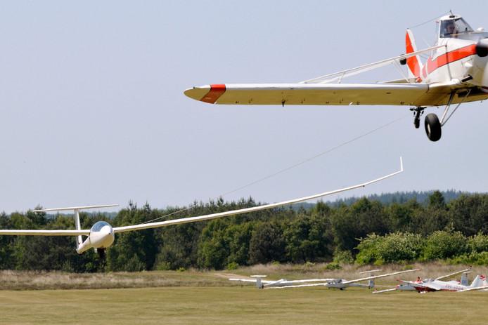 Foto ter illustratie. Dit is niet het zweefvliegtuig uit het stuk.