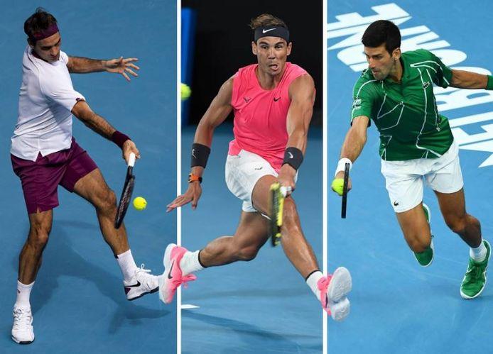 Federer, Nadal, Djokovic... Qui est le meilleur tennisman de tous les temps?