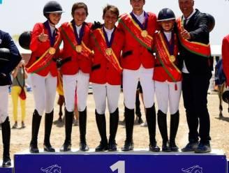 Drie Europese titels voor België op EK jumping: scholieren, junioren en young riders pakken elk goud