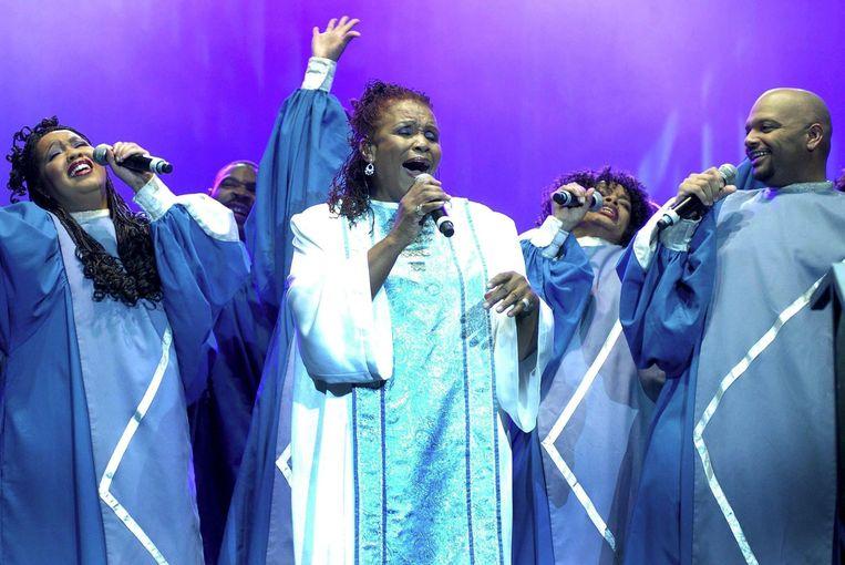 Gospelzangeres Esther Marrow. Beeld anp