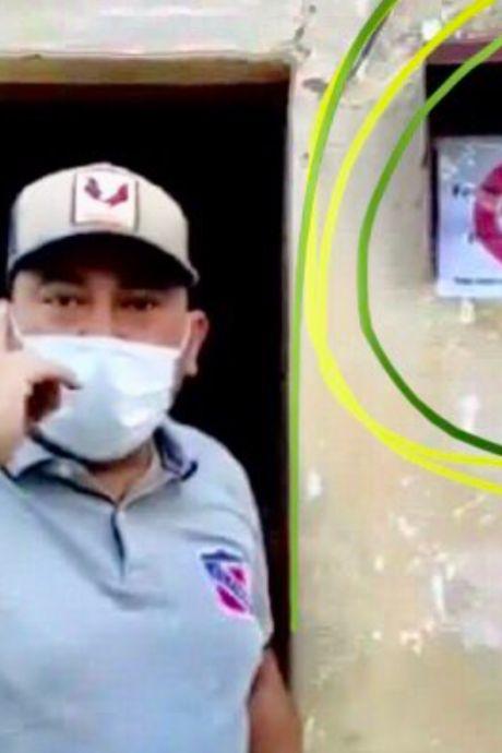 """Un maire vénézuelien marque les maisons de malades de la Covid-19: """"La conscience est le meilleur vaccin"""""""