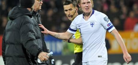 LIVE | Voormalig Twente-aanvaller Jensen helpt Finland met goal