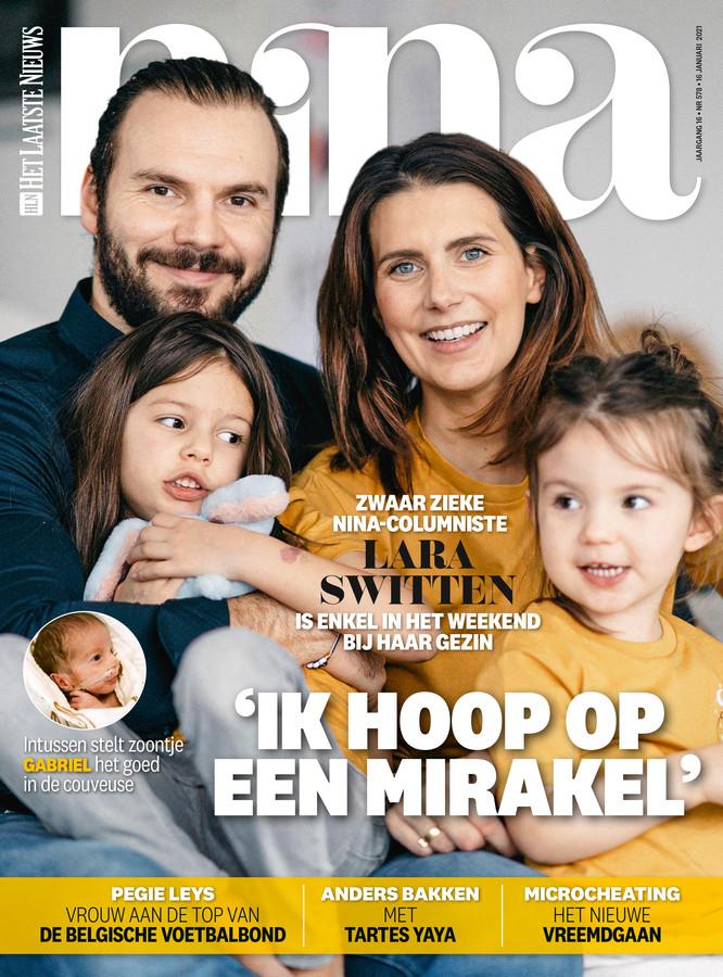 De cover van NINA.