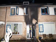 Brand bij woning in Wezep, mogelijk aangestoken