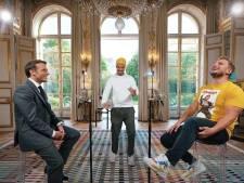 L'improbable concours d'anecdotes entre les Youtubeurs McFly et Carlito et Emmanuel Macron