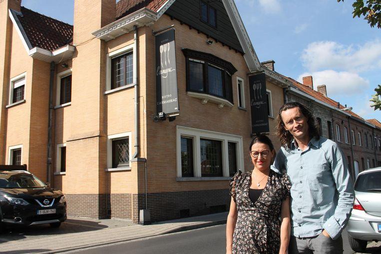 Tineke en David staan vrijdagavond en zondagmiddag voor het laatst in L'Armagnac.