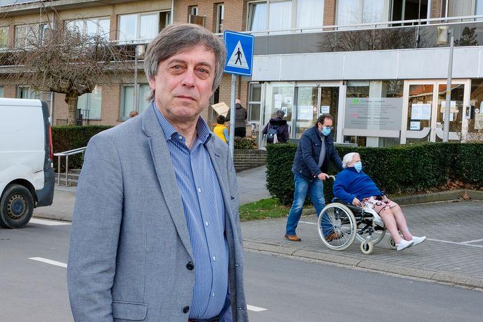 Armand Hermans, voorzitter van eerstelijnszone Grimbergen.