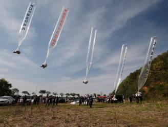 Activisten in Zuid-Korea droppen 500.000 flyers in Noord-Korea met ballonnen
