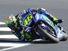 Pech voor Van der Mark: Rossi fit genoeg om te racen