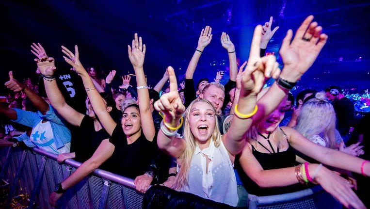 Niet álles draait dit weekend om Amsterdam Dance Event. Maar veel wel. Beeld anp