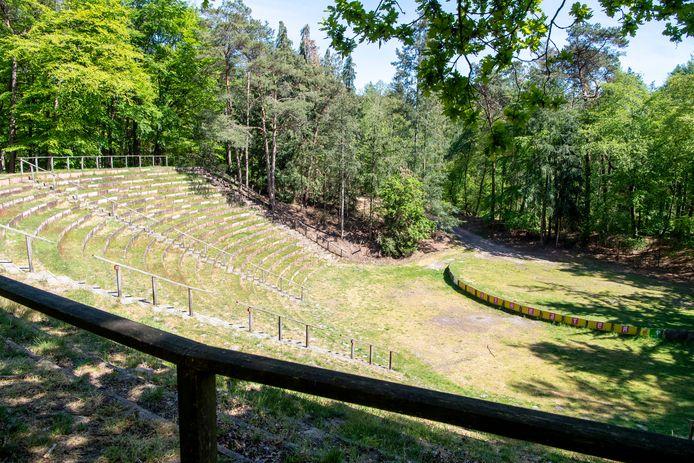 Het Bostheater in Ommen.