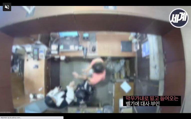 In april kwam de vrouw van de ambassadeur al in opspraak nadat ze een winkelbediende in het gezicht had geslagen. Beeld RV