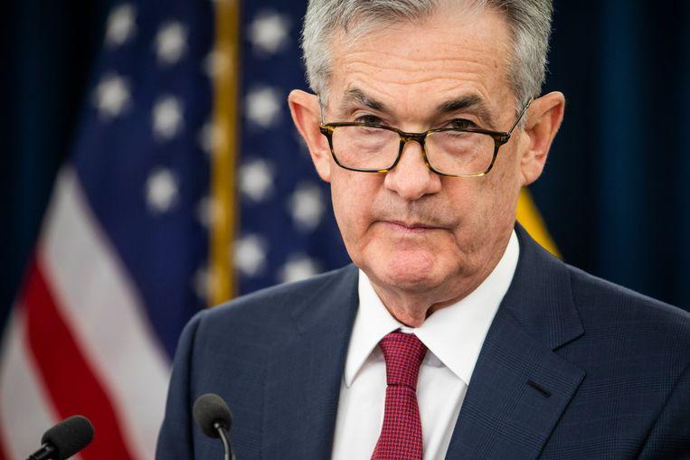Jerome Powell, de voorzitter van de Fed.