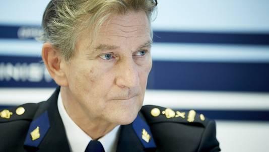 Politiebaas Gerard Bouman.