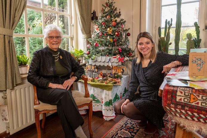 Het grootste cadeau voor Tiny Bartels-Bovee (90) is inmiddels gearriveerd: kleindochter Yara Peters