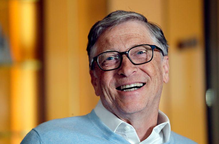 Bill Gates hoopt sneller een vaccin beschikbaar te maken door vaccinfabrieken te bouwen.  Beeld AP