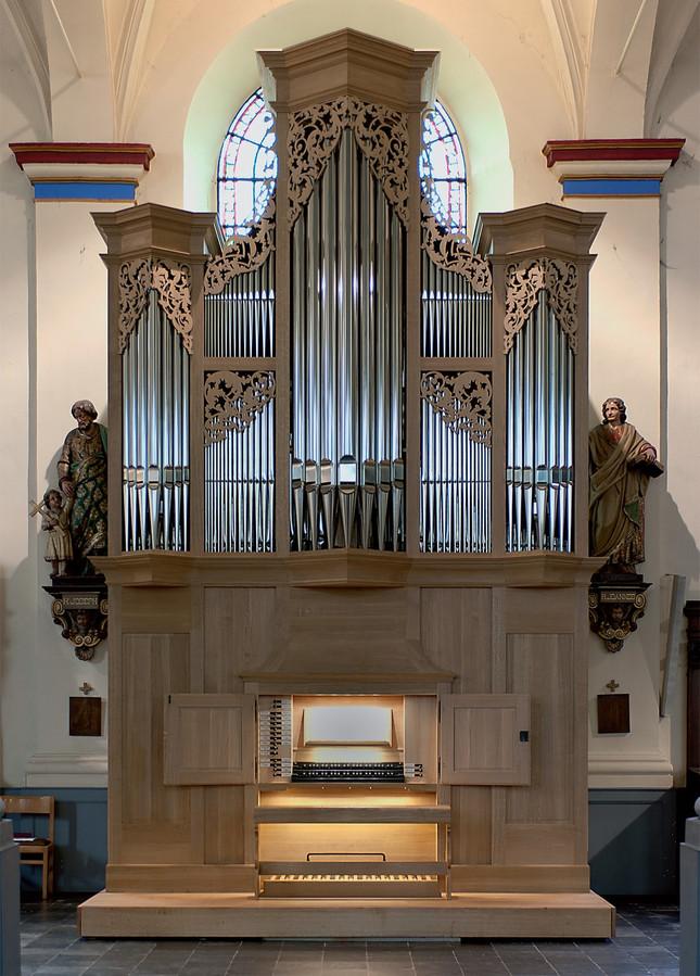 Het unieke Thomas Orgel bevindt zich in de centrumkerk van Bornem.