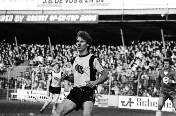 Ton Cornelissen als speler van NAC.