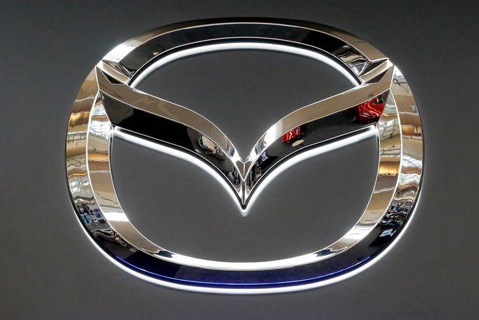 Het Mazda-logo.