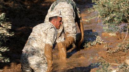 12 doden bij modderstromen in Jordanië