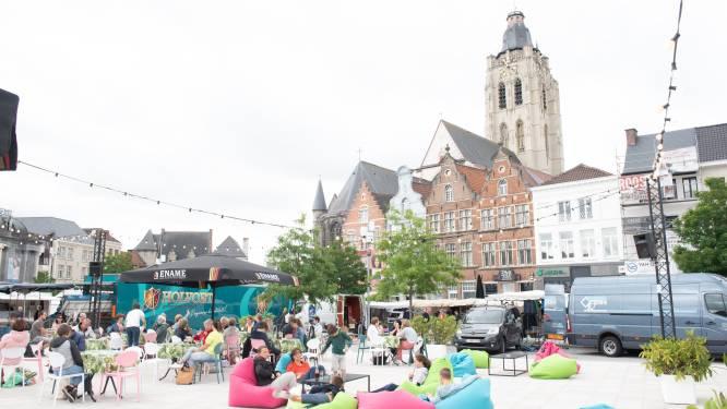 """Zomers terras keert terug op de Markt in Oudenaarde: """"Afwachten wanneer we mogen starten"""""""