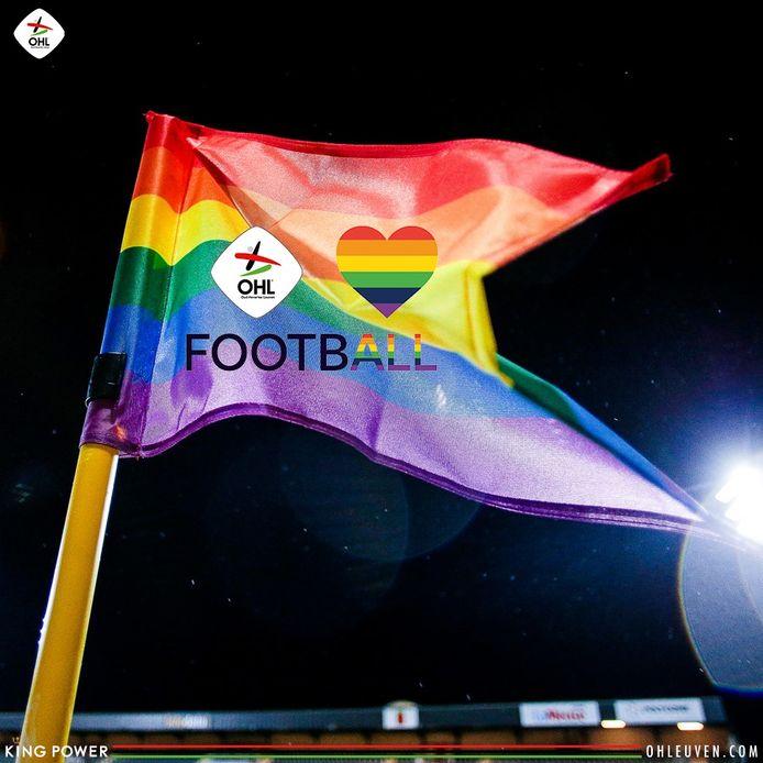 Bijna 900 Jordaanse volgers reageerden met een boos gezicht. De voetbalclub verwijderde bijna de helft van alle reacties en reageert geschokt.