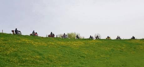 Motorrijders worden in regio niet aan banden gelegd