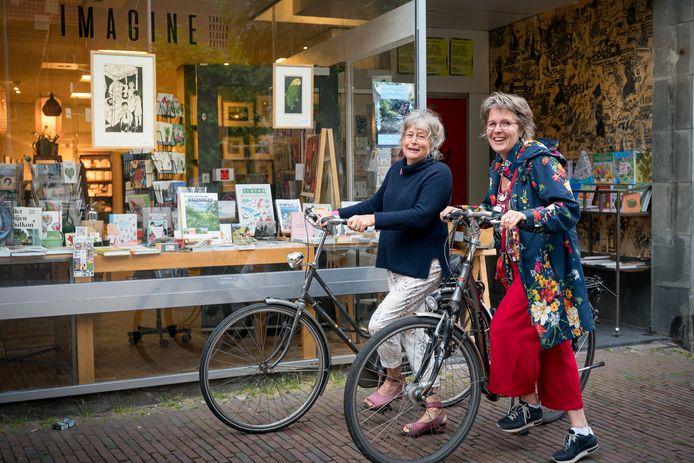 Imagine aan de Bergstraat met Jacqueline van Bergeijk en Birgit Pedersen.
