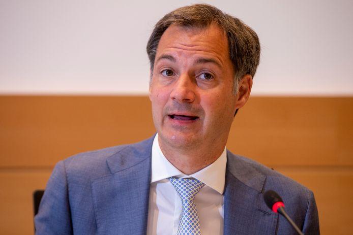 Premier Alexander De Croo