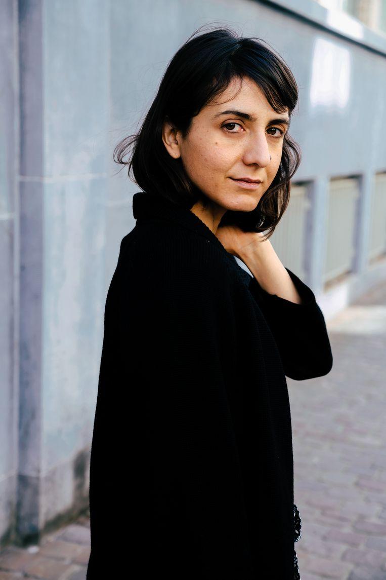 Ottessa Moshfegh: 'Als mensen de leegte in zichzelf willen opvullen door een dildo in hun kont te steken, dan doen ze dat maar.' Beeld Damon De Backer