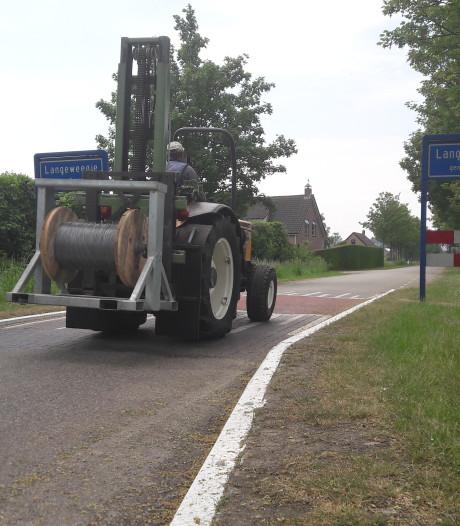 Nieuwe randweg gaat Langeweegje niet verlossen van veel verkeer, maar het plan leeft nog